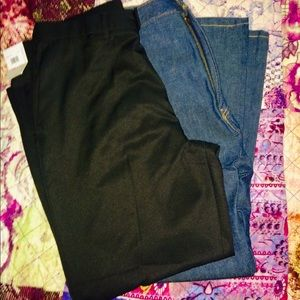 Lot of 2 40x30 pants Perry Ellis Levi's jeans